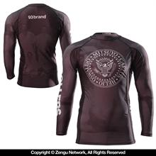 93 Brand Rollers 7/8 Sleeve Rash Guard